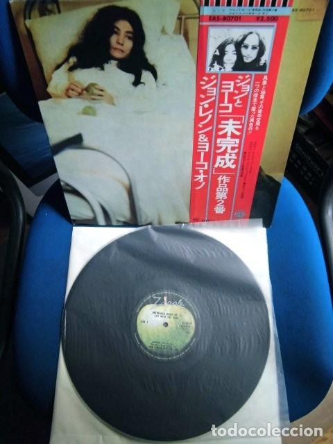 BEATLES JOHN LENNON LP MADE IN JAPAN EXCELENTE ESTADO DE CONSERVACION LLEVA OBI ORIGINAL (Música - Discos - LP Vinilo - Pop - Rock - Internacional de los 70)