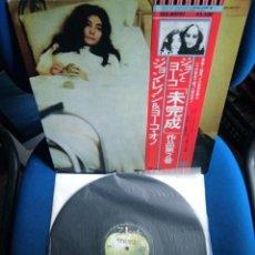 Discos de vinilo: BEATLES JOHN LENNON LP MADE IN JAPAN EXCELENTE ESTADO DE CONSERVACION LLEVA OBI ORIGINAL. Lote 217230597