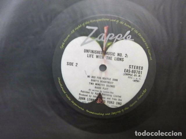 Discos de vinilo: BEATLES JOHN LENNON LP MADE IN JAPAN EXCELENTE ESTADO DE CONSERVACION LLEVA OBI ORIGINAL - Foto 8 - 217230597