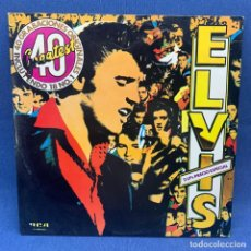 Discos de vinilo: LP - ELVIS PRESLEY - DOBLE LP - 40 GRABACIONES ORIGINALES - 18 NÚMEROS UNO - 1979. Lote 217239823