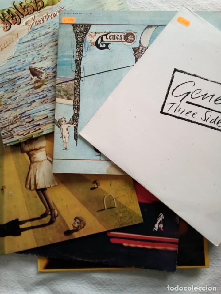 GENESIS - LOTE DE 5 LPS +1 DOBLE.( VER FOTOS) (Música - Discos - LP Vinilo - Pop - Rock Extranjero de los 90 a la actualidad)