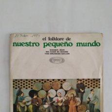 Discos de vinilo: SINGLE VINILO FOLKLORE. Lote 217244262