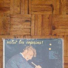 Discos de vinilo: JOHNNY HALLYDAY – SALUT LES COPAINS ! SELLO: PHILIPS – B 77.374 L FORMATO: VINYL, LP, ALBUM, DELUXE. Lote 217257886