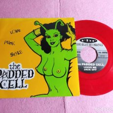 """Discos de vinilo: 7"""" THE PADDED CELL – LOVE PUNK STYLE - RADIO BLAST RECORDINGS RBR 005 - GERMANY PRESS EP (EX-/EX-). Lote 217258415"""