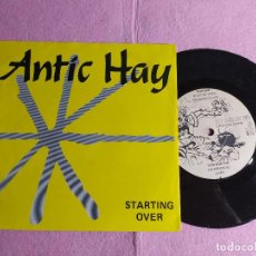 """Discos de vinilo: 7"""" ANTIC HAY – STARTING OVER - LET'S MAKE OUR OWN RECORDS - NETHERLANDS PRESS EP (EX/EX). Lote 217262138"""