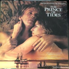 Discos de vinilo: THE PRINCE OF TIDES, LP DE LA BANDA SONORA ORIGINAL. Lote 217264508