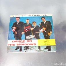Discos de vinilo: THE SHADOWS -------- LITTLE B --- THE RUMBLE - COSY ----DISCO ORIGINAL AÑO 1963 --VG+. Lote 217280118