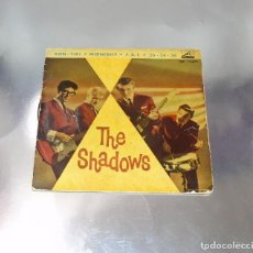 Discos de vinilo: THE SHADOWS -- KON-TIKI / MIDNIGHT / F.B.I. / 36 -24-36- ORIGINAL AÑO 1961-- VG +. Lote 217280253