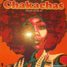 Discos de vinilo: CHAKACHAS LATIN FEVER EP LATIN FUNK SOUL DISCO WAH WAH ESPAÑA 2002 VG++. Lote 217284685