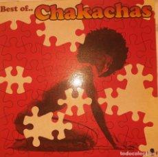 Discos de vinilo: CHAKACHAS BEST OF LATIN FUNK SOUL DISCO AFRO CUBAN WAH WAH ESPAÑA 200? VG++. Lote 217285317