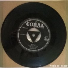 Disques de vinyle: THE CRICKETS. OH BOY/ NOT FADE AWAY. CORAL, UK 1957 SINGLE. Lote 217288945