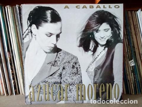 AZUCAR MORENO- A CABALLO MAXI ESPAÑA 1990 (Música - Discos de Vinilo - Maxi Singles - Flamenco, Canción española y Cuplé)
