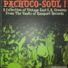 Discos de vinilo: PACHUCO SOUL VVAA LATIN GARAJE ROCK FUNK SOUL R'N'B 2LP VAMPISOUL ESPAÑA 2004 NM. Lote 217290610