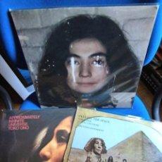 Discos de vinilo: BEATLES YOKO ONO JOHN LENNON LOTE 3 LPS EXPERIMENTALES EXCELENTE ESTADO DE CONSERVACION. Lote 217307257