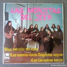 Discos de vinilo: VINILO EP LAS MONJITAS DEL JEEP. Lote 217311467