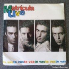 Discos de vinilo: VINILO EP MATRICULA UVE. Lote 217311857
