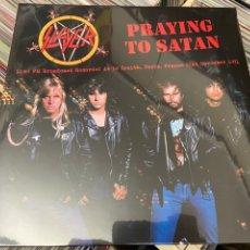Discos de vinilo: SLAYER LP DISCO DE VINILO PRAYING TO SATAN BOOTLEG LIVE FM BROADCAST. Lote 217318138