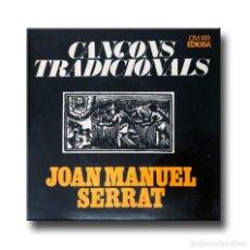 Discos de vinilo: JOAN MANUEL SERRAT - CANÇONS TRADICIONALS. Lote 217325802