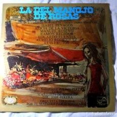Discos de vinilo: LA DEL MANOJO DE ROSAS, SERIE ETIQUETA DORADA, DISCO VINILO LP, ZAFIRO , 1973. Lote 217331850