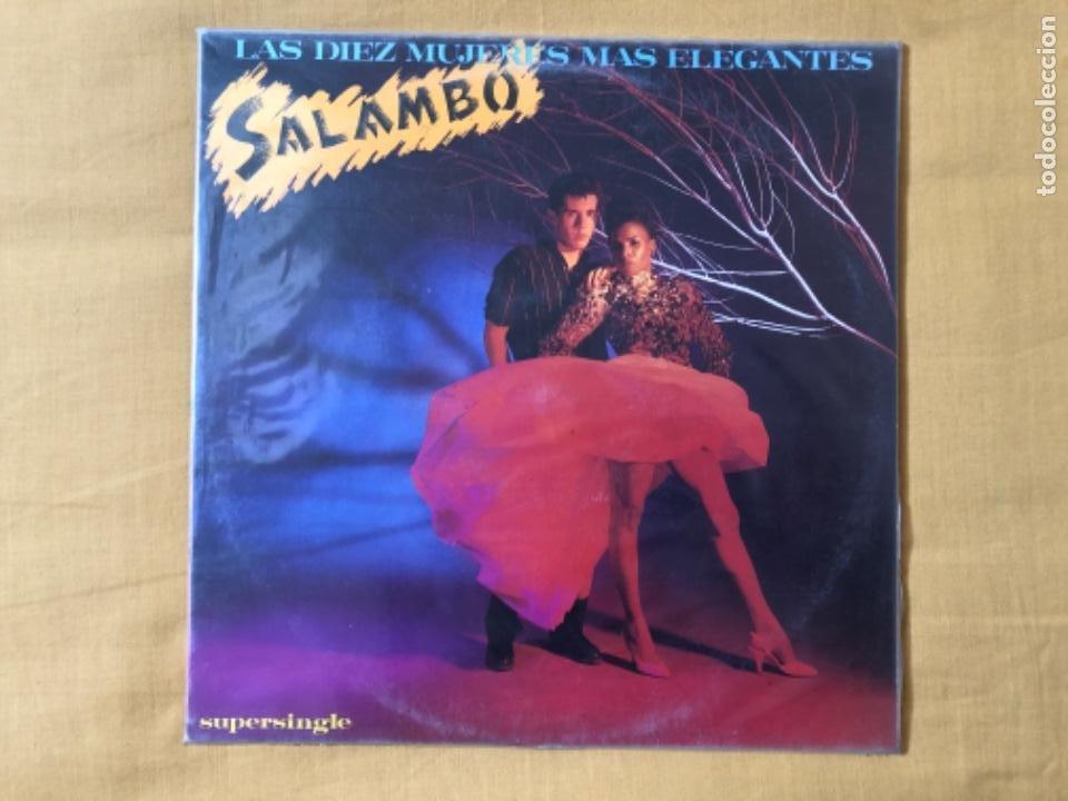 SALAMBÓ MAXISINGLE (Música - Discos de Vinilo - Maxi Singles - Grupos Españoles de los 70 y 80)