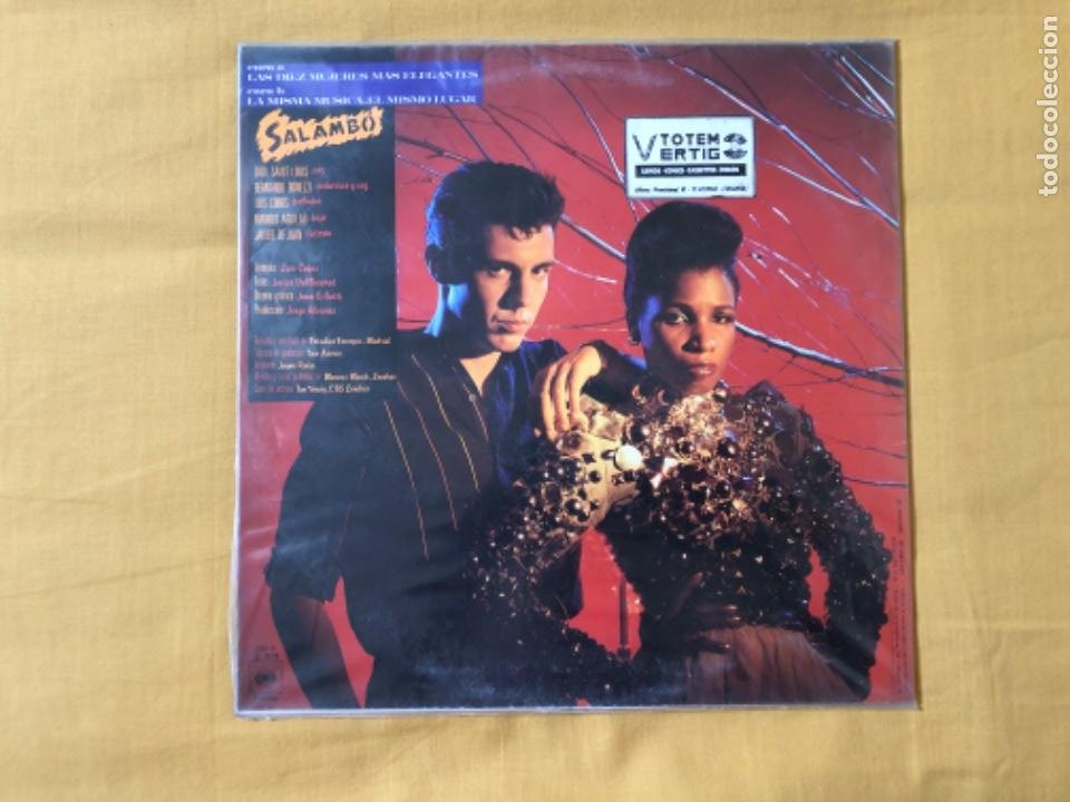 Discos de vinilo: SALAMBÓ MAXISINGLE - Foto 2 - 217342411