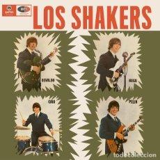 Discos de vinilo: 2LP LOS SHAKERS SHAKERS/ BREAK IT ALL VINILO FREAKBEAT URUGUAY. Lote 248418735
