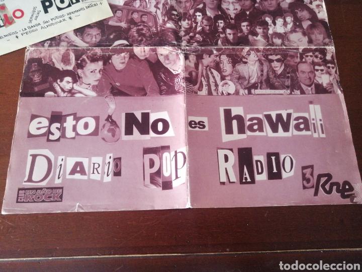 Discos de vinilo: EP + PÓSTER RAREZA DIEZ AÑOS DE SINTONÍA DIARIO POP ESTO NO ES HAWAII LOQUILLO ALASKA RADIO FUTURA - Foto 4 - 217357873