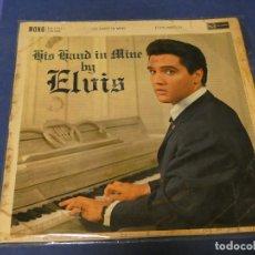 Discos de vinilo: BO67-70 LP HORRIBLEMENTE ANTIGUO ELVIS HIS HAND IN MINE UK 1960? VINILO NO ESTA MAL. Lote 217364402