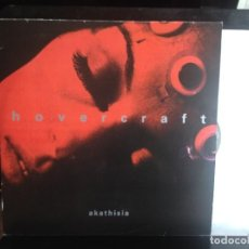 Discos de vinilo: HOVERCRAFT - AKATHISIA - RARE DOUBLE LP WITH BOOKLET. MUTE 9029.1 FIRST- 9029-1. US. NM-M. Lote 217372942