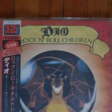 Discos de vinilo: MAXI SINGLE 12 PULGADAS DIO. ROCK N ROLL CHILDREN. EDICIÓN JAPONESA. Lote 217376605