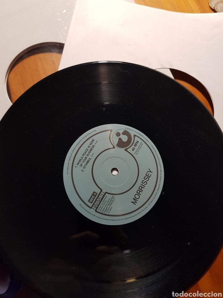 Discos de vinilo: Morrissey. EP 4 temas vinilo 10 pulgadas. The Smiths - Foto 3 - 217377360