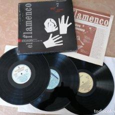 Discos de vinilo: EL FLAMENCO Nº7 -TEMAS LA FLAMENCOLOGÍA- CIRCULO DE LECTORES- SEGUNDA MANO. Lote 217383281