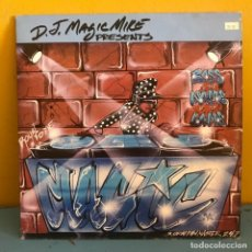 Discos de vinilo: D.J. MAGIC MIKE BASS IS THE NAME OF THE GAME 2LP USA 1990. Lote 217436417