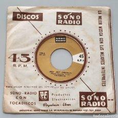 Discos de vinilo: LOS GRECOS - HEY HEY CHIQUILLA +1 (PERÚ - SONORADIO - 1968) KILLER GARAGE SURF GO GO!. Lote 217441780