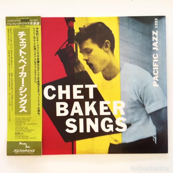 CHET BAKER – CHET BAKER SINGS JAPAN 1981 PACIFIC JAZZ (Música - Discos - LP Vinilo - Jazz, Jazz-Rock, Blues y R&B)