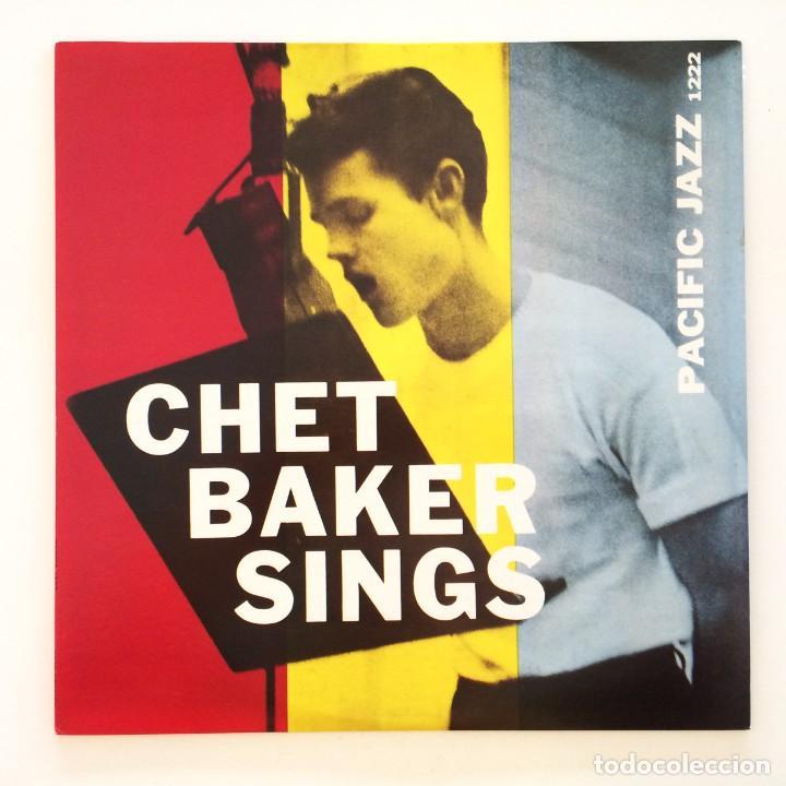Discos de vinilo: Chet Baker – Chet Baker Sings Japan 1981 Pacific Jazz - Foto 2 - 217442651
