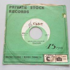 Discos de vinilo: LOS SPECTROS - DOLOR SE PAGA CON DOLOR +1 (PERÚ - LÍDER - 1970) GARAGE BEAT!. Lote 217443035
