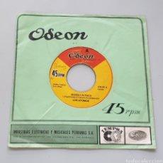 Discos de vinilo: LOS ATOMOS - MORIR UN POCO +1 (PERÚ - ODEON - 1968) GARAGE SHAKER ORGAN KILLER!. Lote 217443377