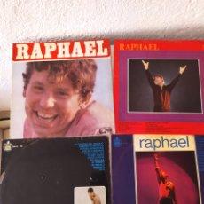 Discos de vinilo: 4 LPS RAPHAEL. Lote 217443498