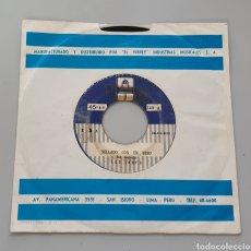 Discos de vinilo: LOS ZANY'S - SELLADO CON UN BESO +1 (PERÚ - ÉXITO - 1967) KILLER GARAGE BEAT GO GO!. Lote 217445627
