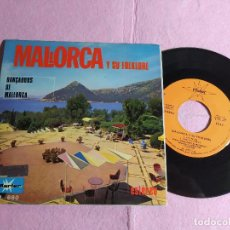 """Discos de vinilo: 7"""" DANÇADORS DE MALLORCA – MALLORCA Y SU FOLKLORE - MARFER M 680 - SPAIN PRESS EP (VG++/VG++). Lote 217456531"""