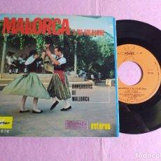 """Discos de vinilo: 7"""" DANÇADORS DE MALLORCA – MALLORCA Y SU FOLKLORE - MARFER M 676 - SPAIN PRESS EP (VG++/VG++). Lote 217456827"""