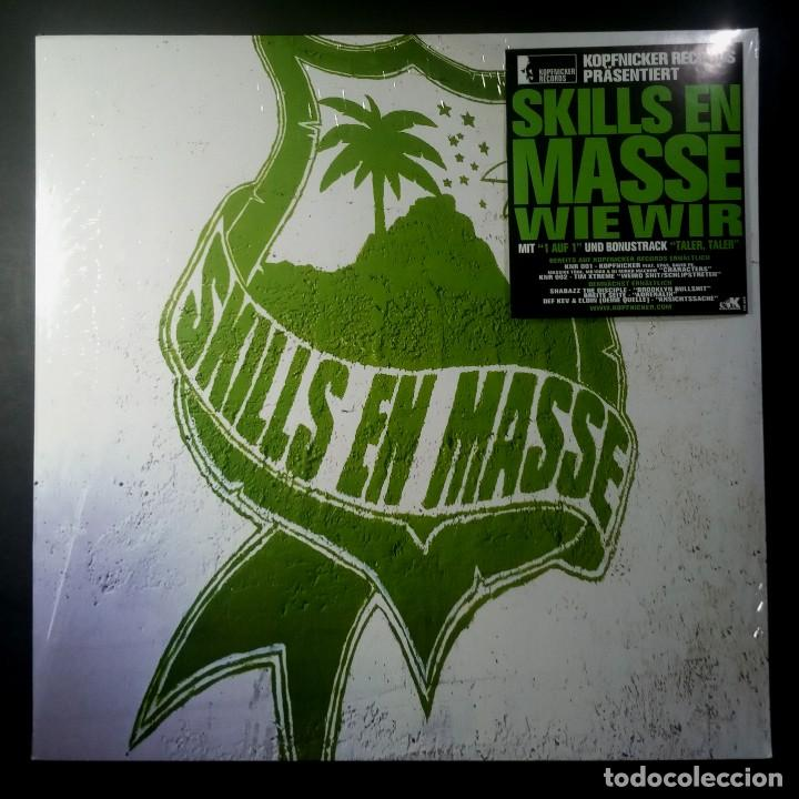 SKILLS EN MASSE - WIE WIR - EP 12 33 ALEMAN 2000 - EASTWEST (Música - Discos de Vinilo - EPs - Rap / Hip Hop)