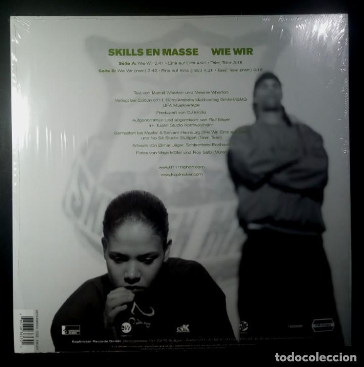Discos de vinilo: SKILLS EN MASSE - wie wir - EP 12 33 ALEMAN 2000 - EASTWEST - Foto 2 - 217459910