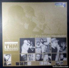 Discos de vinilo: THM SQUAD LA RAISON - EP 12 33 ALEMAN 2000 - EASTWEST. Lote 217460506