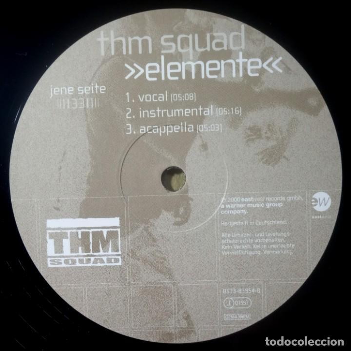 Discos de vinilo: THM SQUAD la raison - EP 12 33 ALEMAN 2000 - EASTWEST - Foto 3 - 217460506