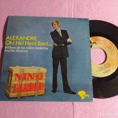 """Discos de vinilo: 7"""" NINO FERRER – ALEXANDRE +3 - RIVIERA TRE-015 - SPAIN PRESS - PROMO - EP (VG++/VG+). Lote 217461431"""