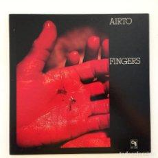 Discos de vinilo: AIRTO – FINGERS JAPAN 1973 CTI RECORDS. Lote 217468966
