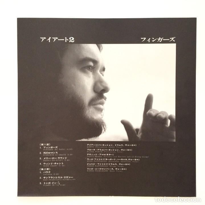 Discos de vinilo: Airto – Fingers Japan 1973 CTI Records - Foto 4 - 217468966
