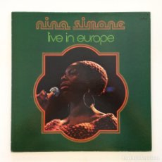 Discos de vinilo: NINA SIMONE – LIVE IN EUROPE JAPAN 1975 MERCURY. Lote 217470761